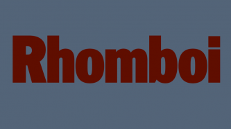 Image with the word: Rhomboi