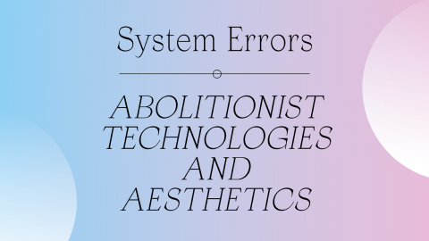 A blue and mauve background with black text that reads System Errors